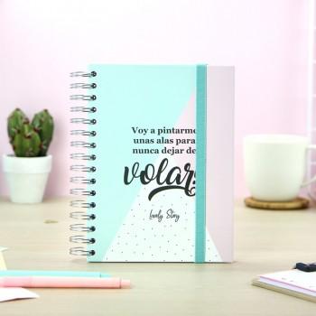 Cuaderno A5 Nunca dejar de...
