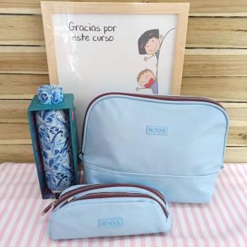 Pack regalo profe azul